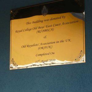 Memento Presentation to RCOBECA Member
