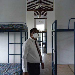 Principal Inspecting Dormitory
